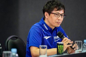 Yamaha press conference