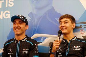 Robert Kubica, Williams Racing, and George Russell, Williams Racing