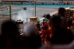 Sebastian Vettel, Ferrari SF90, spins
