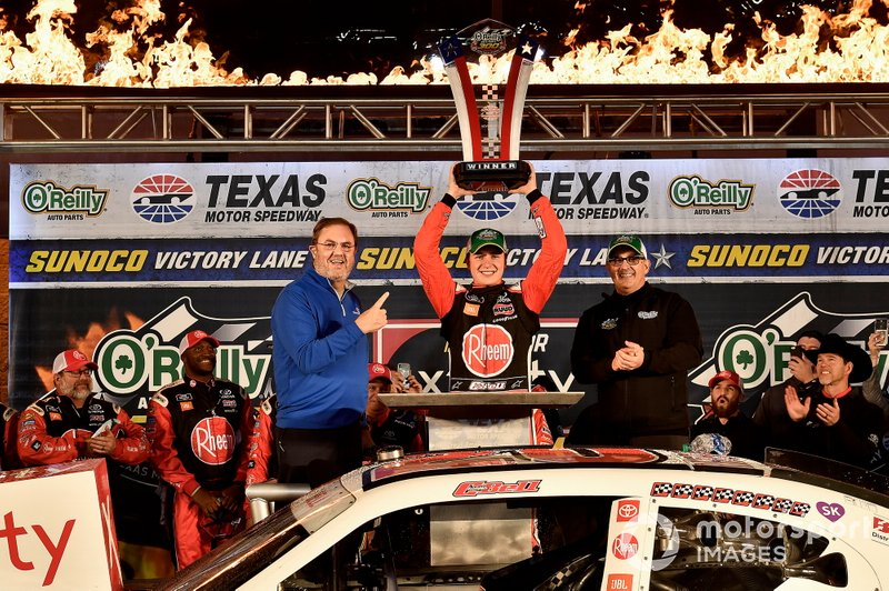 Christopher Bell, Joe Gibbs Racing, Toyota Supra Rheem wins
