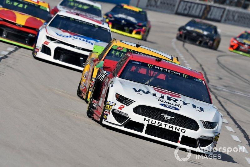 Brad Keselowski, Team Penske, Ford Mustang Wurth