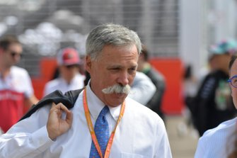 Chase Carey, voorzitter Formule 1