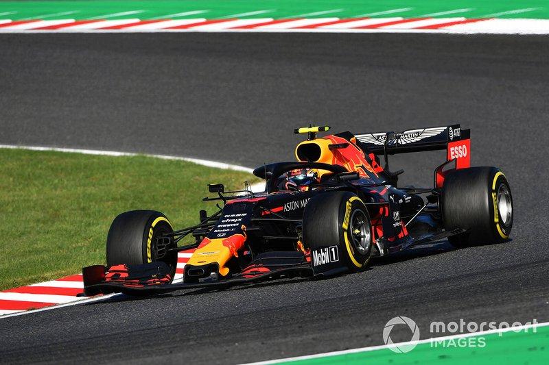 Albon y Red Bull acaban cerca del podio