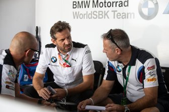 Shaun Muir, BMW World Superbike Team, Marc Bongers, BMW Motorrad Motorsport Director