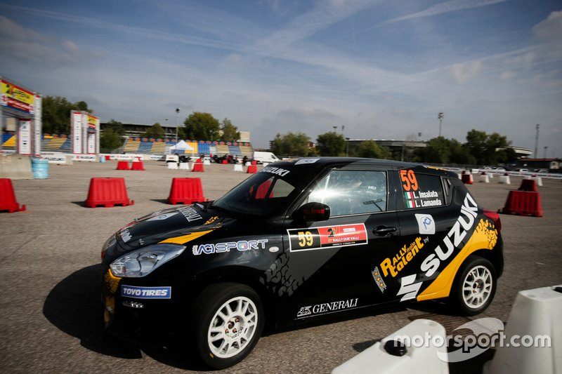 Luca Insalata, Lorenzo Lamanda, Suzuki Swift Sport