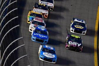 Ryan Preece, JTG Daugherty Racing, Chevrolet Camaro Cottonelle, Ricky Stenhouse Jr., JTG Daugherty Racing, Chevrolet Camaro Kroger