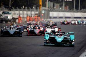 Mitch Evans, Jaguar Racing, Jaguar I-Type 4 Nyck De Vries, Mercedes Benz EQ, EQ Silver Arrow 01