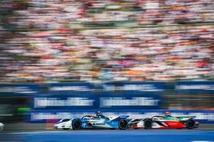 Maximilian Günther, BMW I Andretti Motorsports, BMW iFE.20 battles with Daniel Abt, Audi Sport ABT Schaeffler, Audi e-tron FE06