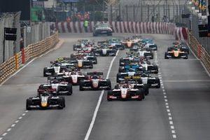 Start zum Formel-3-Grand-Prix von Macau 2019