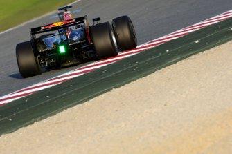 Sebastien Loeb, World Rally Champion tests for Red Bull Racing