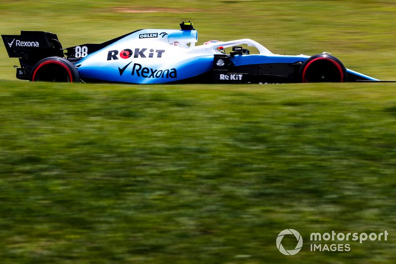 16º Robert Kubica, Williams FW42 1:33:32.670