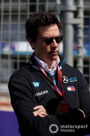 Toto Wolff, esposo de Susie Wolff, directora del equipo de Venturi