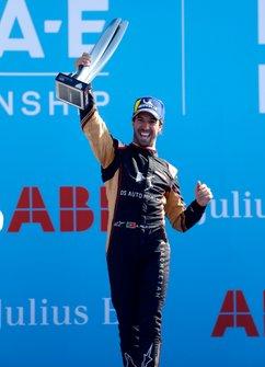 Podio: ganador de la carrera Antonio Felix da Costa, DS Techeetah