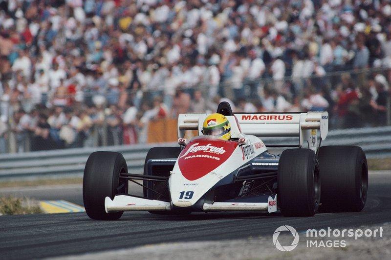 Zandvoort 1984: Ayrton Senna in de Toleman