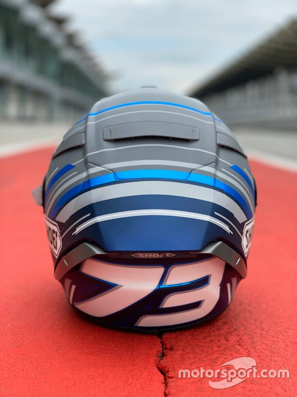 Casco Alex Márquez pretemporada