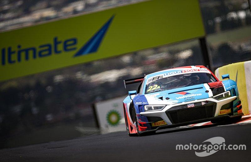 #22 Audi Sport Team Valvoline Audi R8 - LMS GT3: Garth Tander, Chris Mies, Mirko Bortolotti