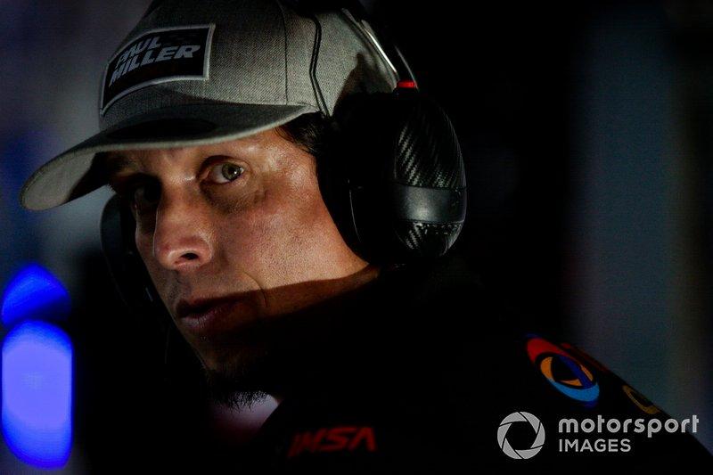 Paul Miller Racing crew member