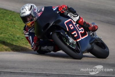 Marc Marquez testing