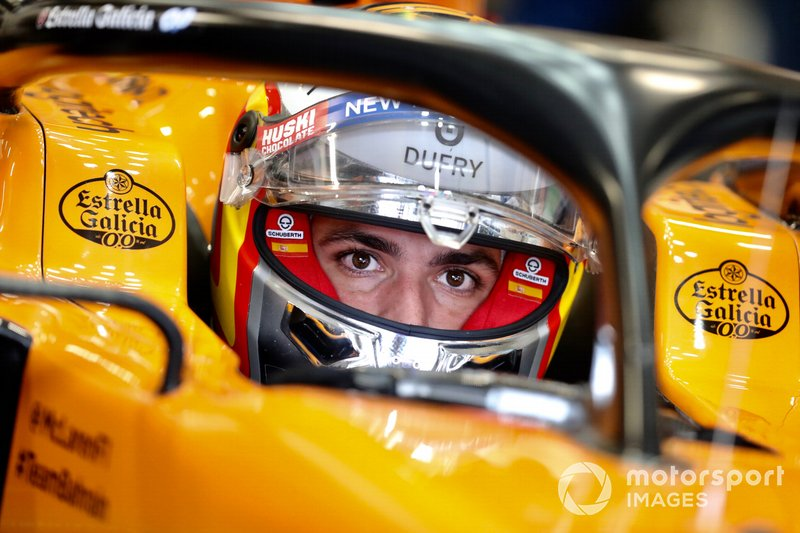 20: Carlos Sainz Jr., McLaren MCL34, no time