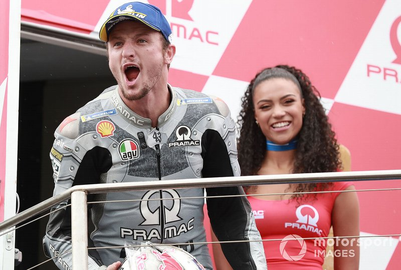 Podium: third place Jack Miller, Pramac Racing