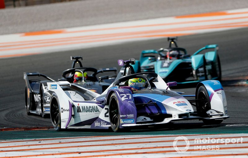 Alexander Sims, BMW I Andretti Motorsports, BMW iFE.20 Oliver Rowland, Nissan e.Dams, Nissan IMO2, Mitch Evans, Panasonic Jaguar Racing, Jaguar I-Type 4