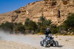 #254 M.E.D. Racing Team Yamaha: Nelson Augusto Sanabria Galeano