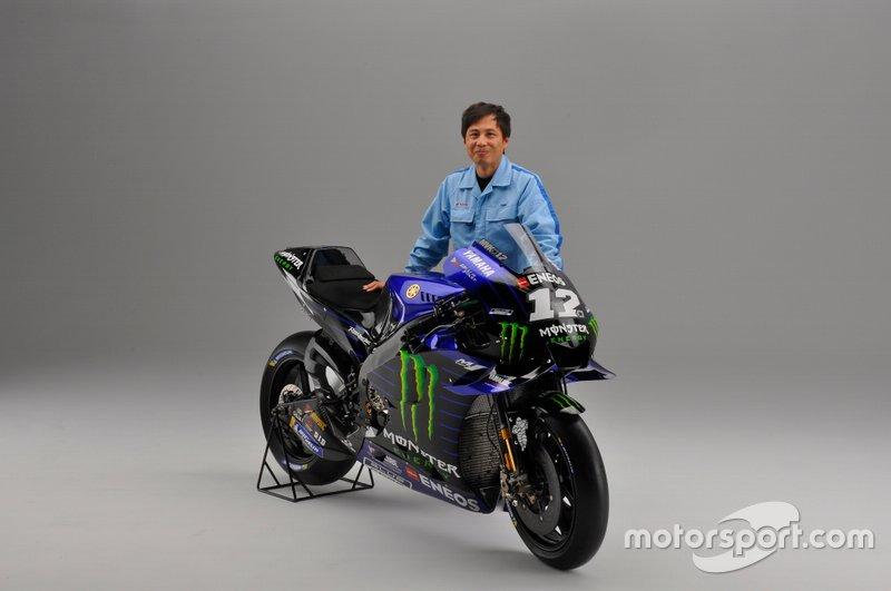 Takahiro Sumi,Yamaha MotoGP Groupleader