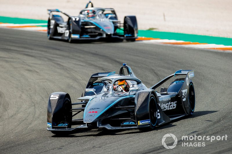 Stoffel Vandoorne, Mercedes Benz EQ Formula, EQ Silver Arrow 01 Nyck de Vries, Mercedes Benz EQ, EQ Silver Arrow 01