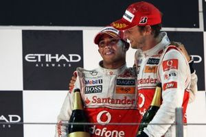 Lewis Hamilton, McLaren, Jenson Button, McLaren