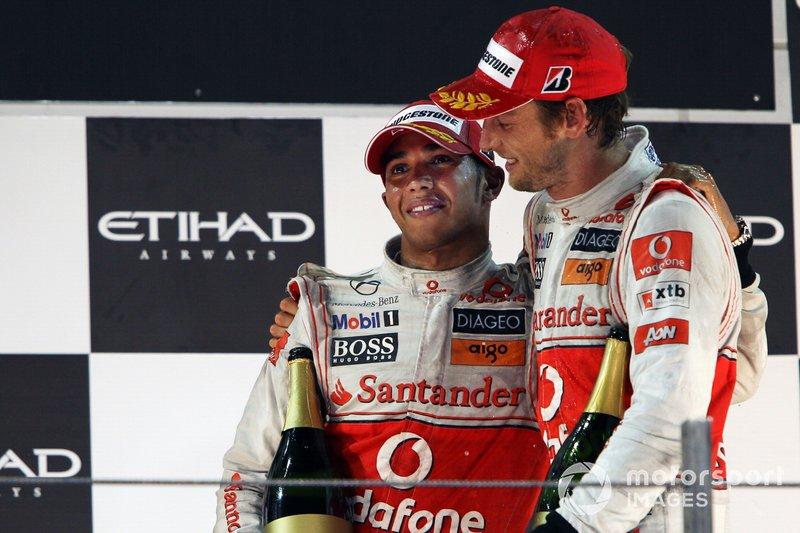 Lewis Hamilton et Jenson Button chez McLaren