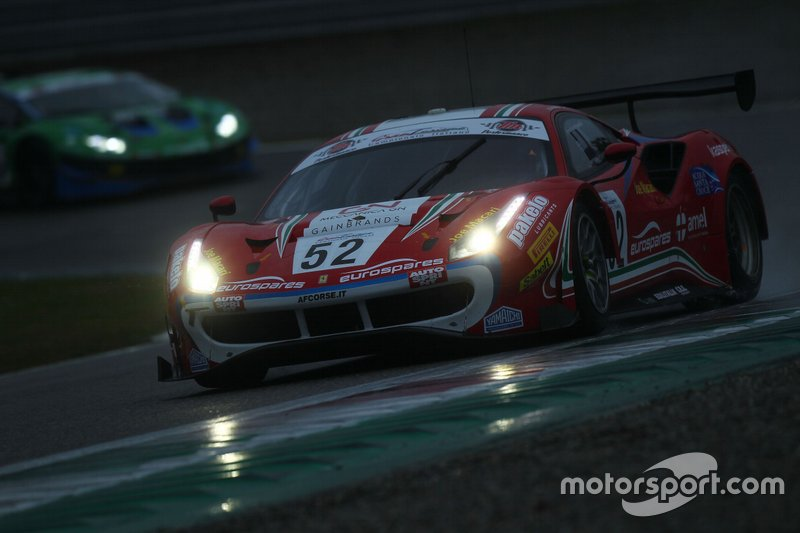 #52 Ferrari 488 GT3-GT3 PRO-AM, AF Corse: Fuoco-Hudspeth