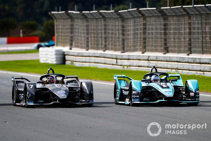 James Calado, Jaguar Racing, Jaguar I-Type 4 alongside Nico Müller, Dragon Racing, Penske EV-4