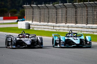 James Calado, Jaguar Racing, Jaguar I-Type 4 alongside Nico Müller, Dragon Racing, Penske EV-4