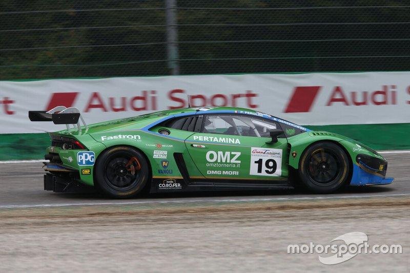 #19 Lamborghini Huracan GT3 Evo GT3 PRO-AM, Imperiale Racing: Perolini-Gersekowski