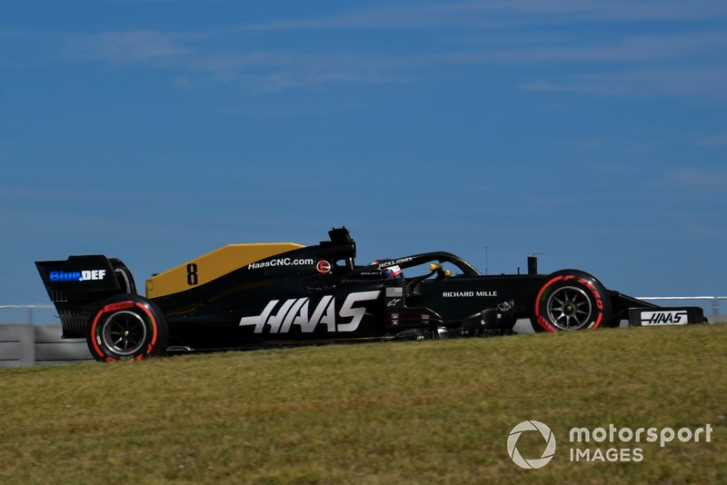 15º: Romain Grosjean, Haas F1 Team VF-19