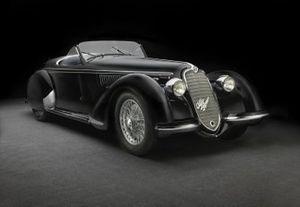 Alfa Romeo 2900 8C Lungo Spider 1939
