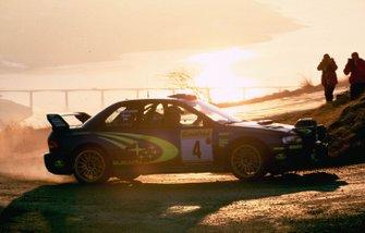 Juha Kankkunen, Juha Repo, Subaru al Rally Monte Carlo del 2000