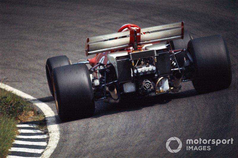 Zandvoort 1971: De kont van Mario Andretti's Ferrari