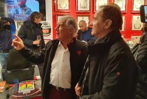 Giacomo Agostini y Roby Facchinetti, cantante
