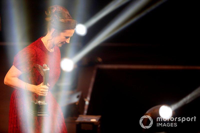 Catherine Bond Muir de la W Series deja el escenario después de que la serie ganara el Premio Pionera e Innovadora