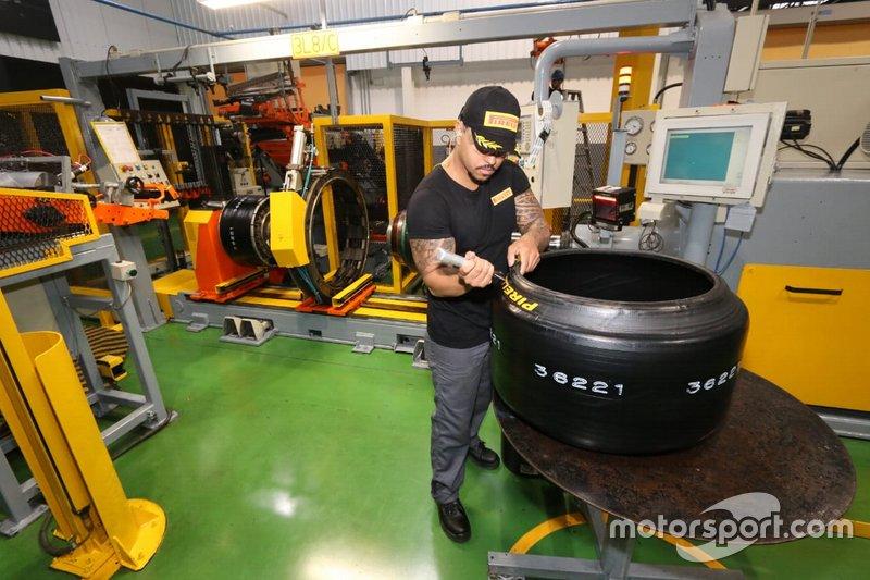 Apresentação do Módulo de Competições da Pirelli, em Campinas - SP