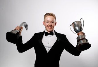 Johnathan Hoggard wins the Aston Martin Autosport BRDC Young Driver Of The Year Award.