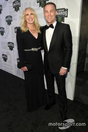 Kevin Harvick mit Ehefrau Delana