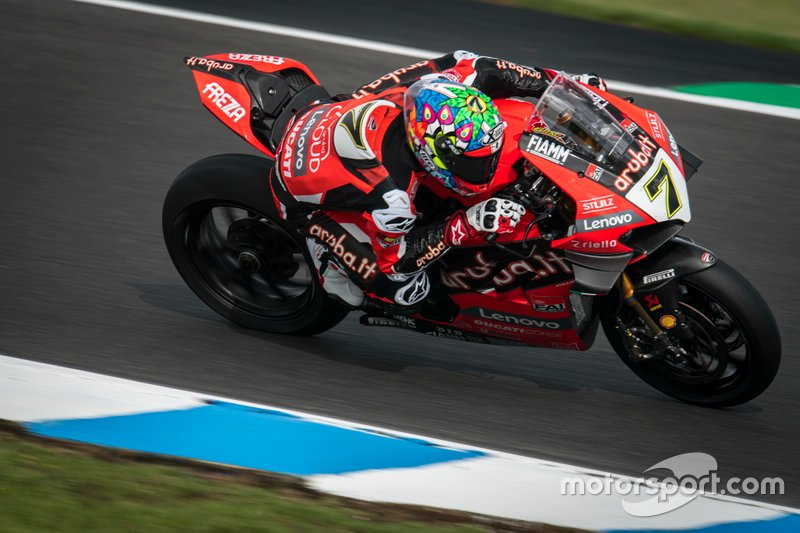 #7 Chaz Davies, ARUBA.IT Racing Ducati