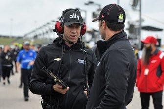 Jimmie Johnson, Hendrick Motorsports, mit Cliff Daniels