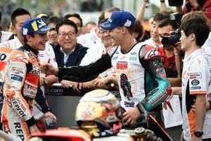1. Marc Marquez, Repsol Honda Team, 2. Fabio Quartararo, Petronas Yamaha SRT