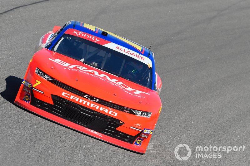Justin Allgaier, JR Motorsports, Chevrolet Camaro Trademark Nitrogen / BRANDT