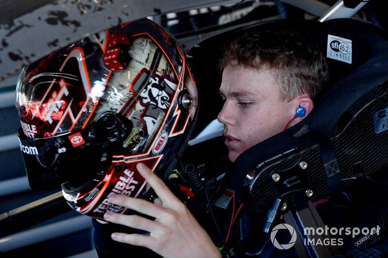 Riley Herbst, Joe Gibbs Racing, Toyota Supra iK9