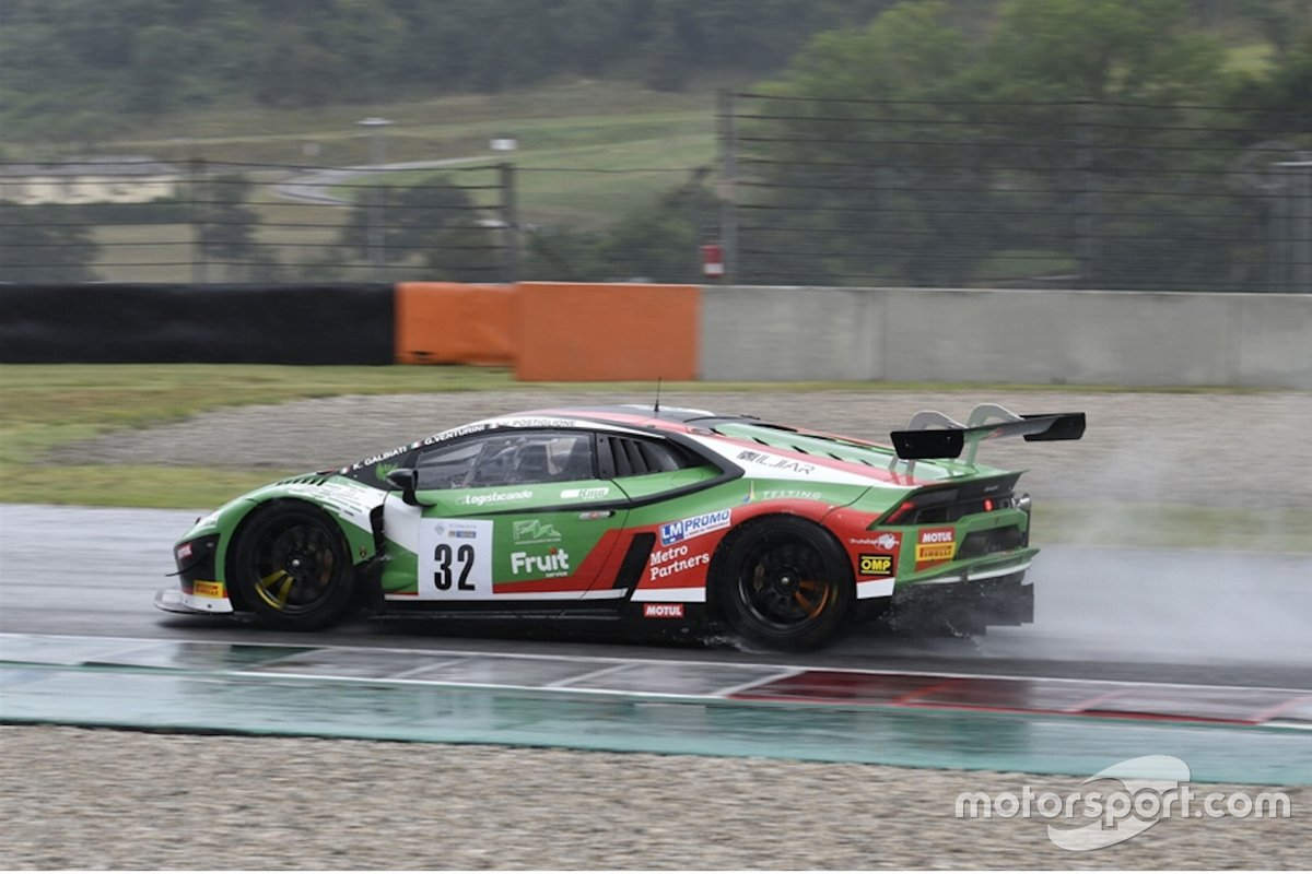 Galbiati, Venturini, Postiglione, Lamborghini Huracan GT3, Imperiale Racing