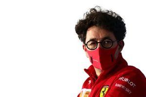 Mattia Binotto, Team Principal Ferrari, in the Team Principals Press Conference